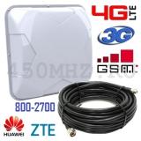 3G / 4G LTE / GSM (800-2700 МГц), 9-14 дБ